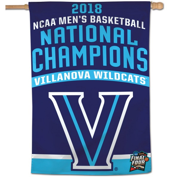 Villanova Wildcats College Basketball National Champs House Banner