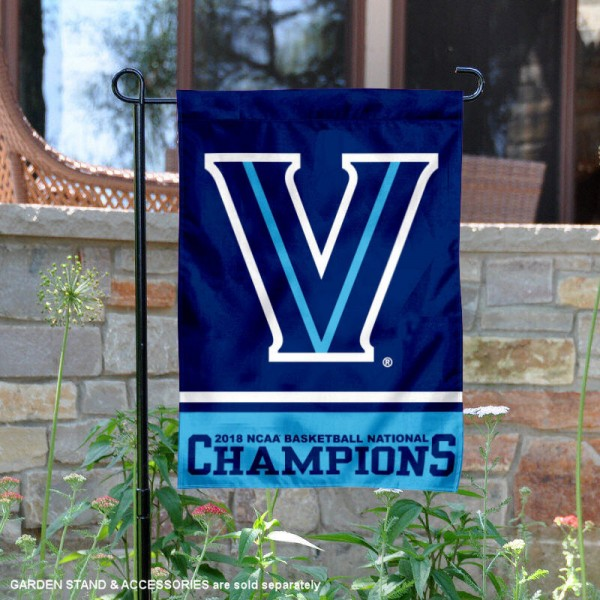 Villanova Wildcats College Basketball National Champions Garden Banner