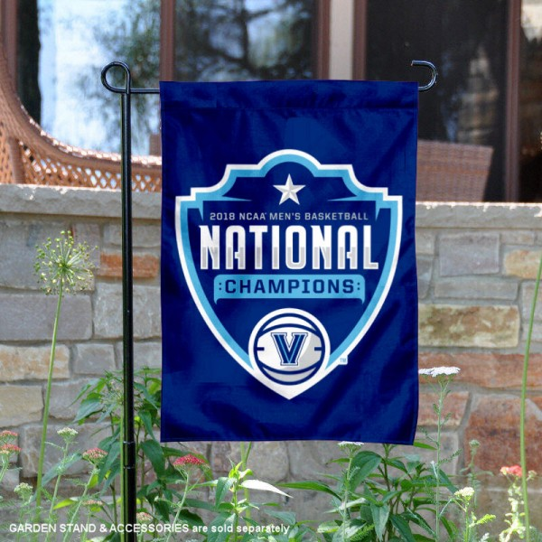 Villanova National Champs On the Court Logo Garden Banner
