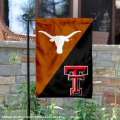 House Divided Garden Flag - UT Longhorns vs. Red Raiders