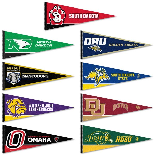 Summit League Conference Pennant Set