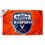 UVA Cavaliers 2019 National Basketball Champions 4'x6' Flag