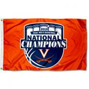 2019 Orange Final Four Champions Virginia Cavaliers 3x5 Foot Flag