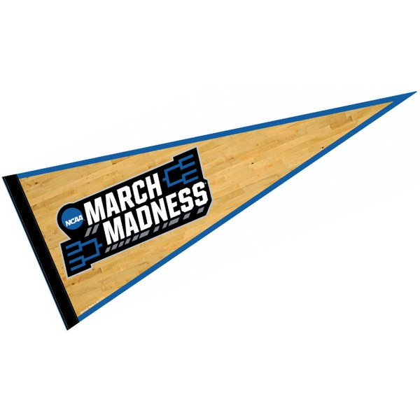 March Madness Logo Pennant