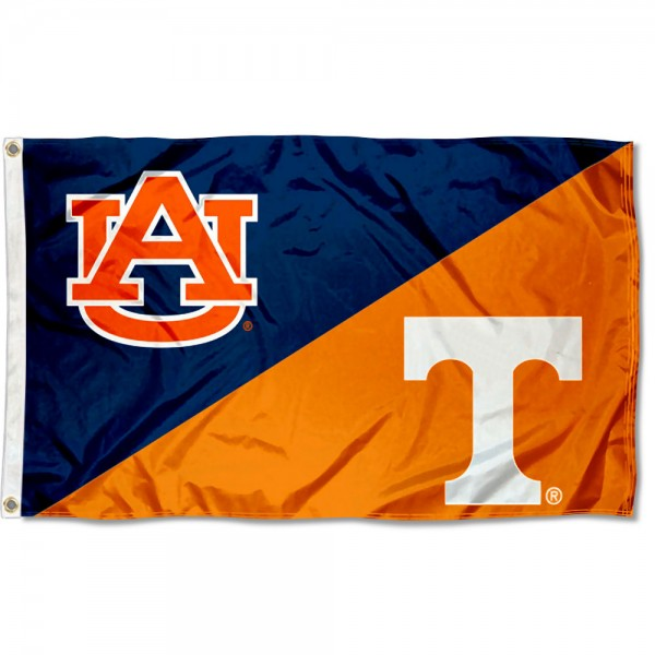 House Divided Flag - AU Tigers vs UT Volunteers