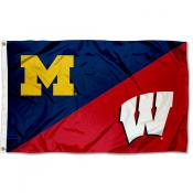 House Divided Flag - Wolverines vs Badgers