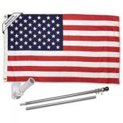 American 3x5 Flag Pole and Mount Kit