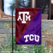 House Divided Garden Flag - Aggies vs Horned Frogs