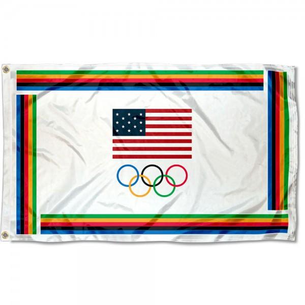 Team USA Olympic 3x5 Foot Flag