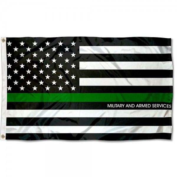 Armed Services and Military Thin Line 3x5 Foot Flag