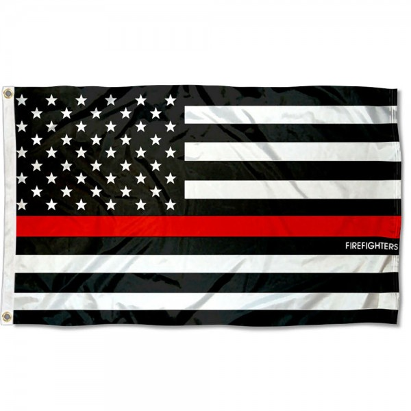Fire Fighters Thin Line 3x5 Foot Flag
