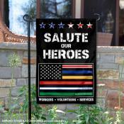 Thank Nurses Doctors Heroes Yard Garden Banner