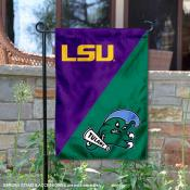 House Divided Garden Flag - LSU Tigers vs Green Wave