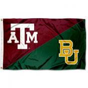 House Divided Flag - Aggies vs BU Bears