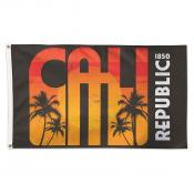 1850 Cali Republic 3x5 Foot Flag