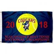 2018 Division II Mens Tennis NCAA Champions Columbus State Cougars 3x5 Foot Flag