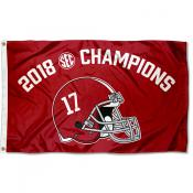2018 SEC Football Champions Alabama Crimson Tide 3x5 Foot Flag