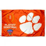 2020 CFP Football Semifinal Clemson 3x5 Foot Flag