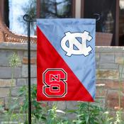 House Divided Garden Flag - NC State vs. UNC