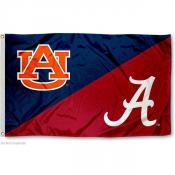 House Divided Flag - Alabama vs. Auburn