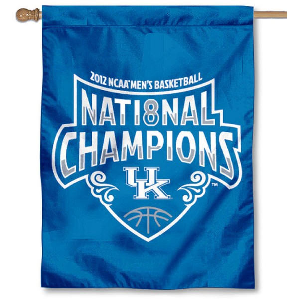 UK Wildcats 2012 Official Champions House Flag
