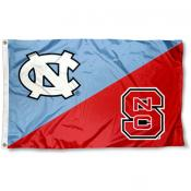 House Divided Flag - UNC vs. NC State