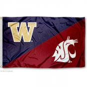 House Divided Flag - Washington vs. WSU