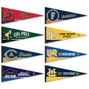 Big West Pennant Set