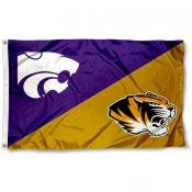 House Divided Flag - Kansas State vs. Missouri