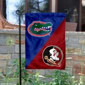 House Divided Garden Flag - Florida vs FSU
