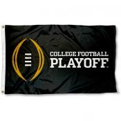 College Football Playoff Logo Flag