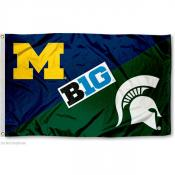 House Divided Flag - Michigan vs. Michigan State