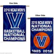 Villanova Wildcats 2 X Champions Banner Flag