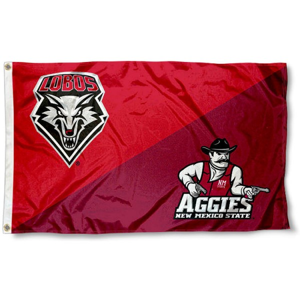 House Divided Flag - Lobos vs. Aggies