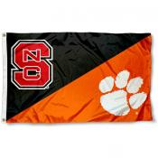 House Divided Flag - NC Wolfpack vs. Clemson Tigers