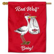 A State Red Wolves New Baby Banner