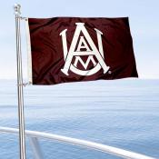 AAMU Bulldogs Boat Nautical Flag