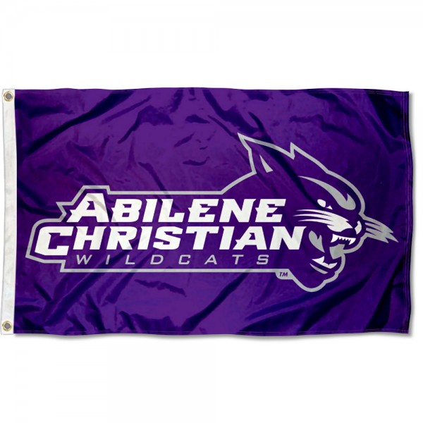 Abilene Christian Wildcats 3x5 Foot Flag
