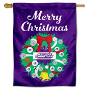 Abilene Christian Wildcats Christmas Holiday House Flag