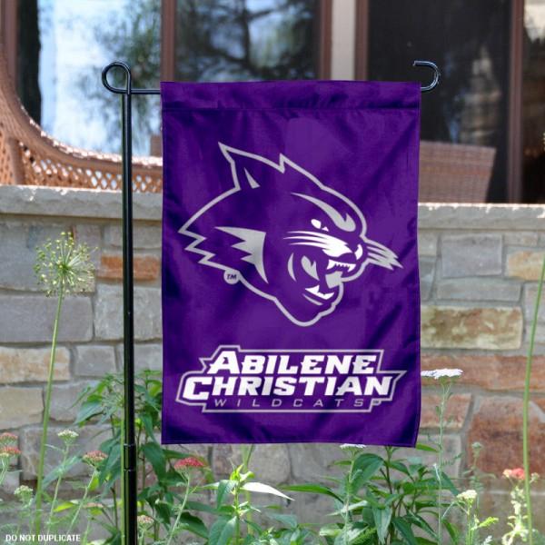 Abilene Christian Wildcats Garden Flag