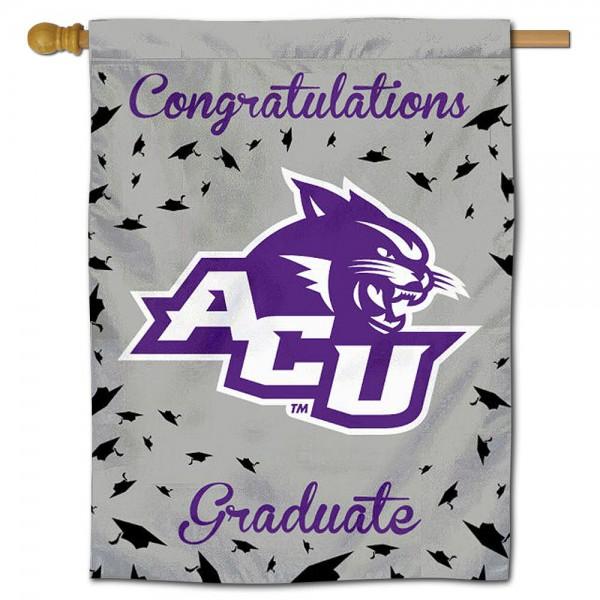 Abilene Christian Wildcats Graduation Banner