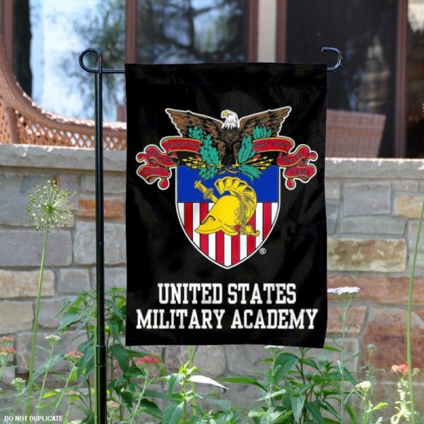 Academy at West Point Seal Logo Garden Flag