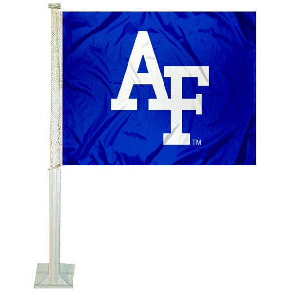Air Force Falcons AF Logo Car Flag