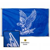 Air Force Falcons Appliqued Sewn Nylon Flag