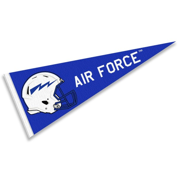 Air Force Falcons Football Helmet Pennant