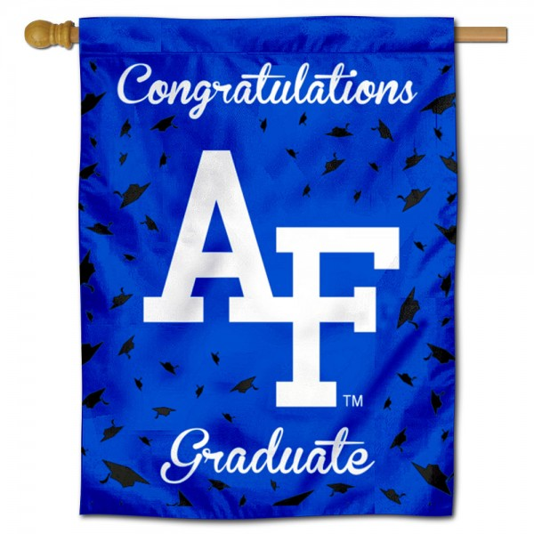 Air Force Falcons Graduation Banner