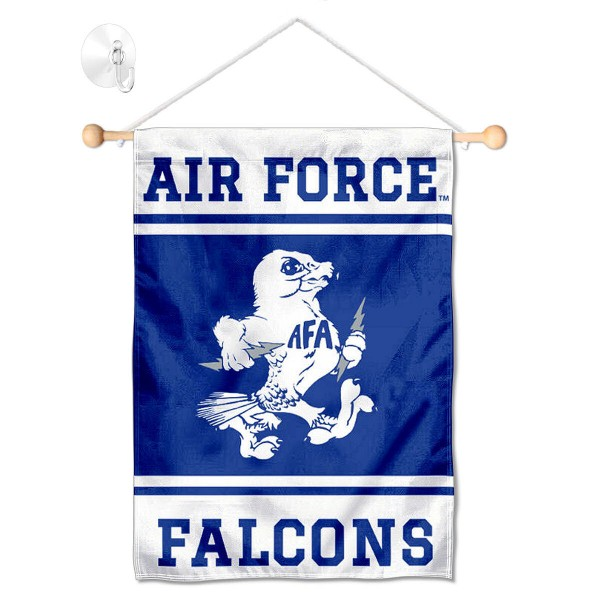 Air Force Falcons Window Hanging Banner with Suction Cup