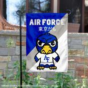 Air Force Falcons Yuru Chara Tokyo Dachi Garden Flag