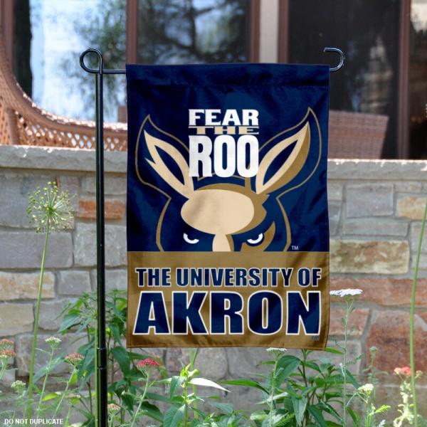 Akron Zips Garden Flag