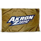 Akron Zips Gold Flag